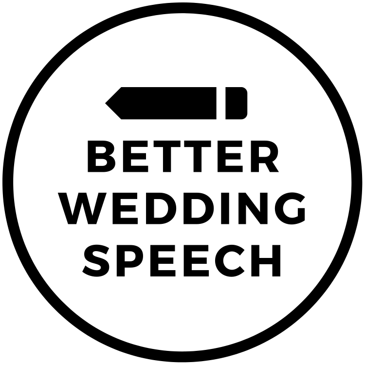 Better Wedding Speech Logo Black