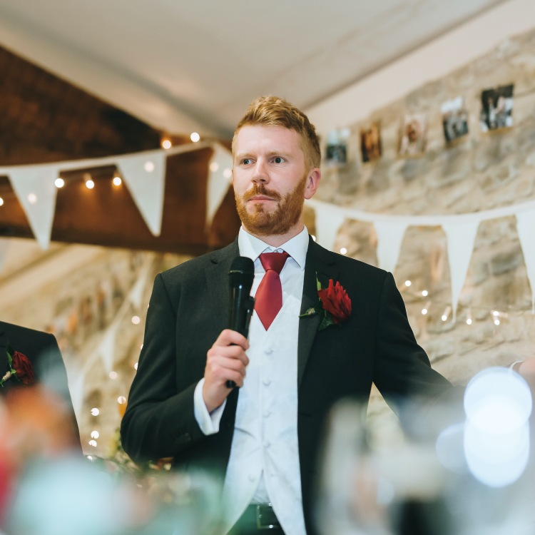 Best man speech, October 2019